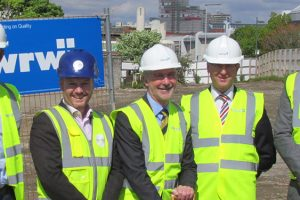 Groundbreaking ceremony marks start on site