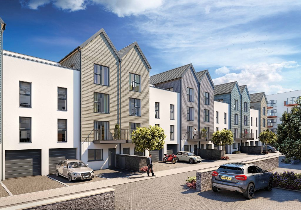 Millbay Quadrant Wharf 03 1024x717 - Quadrant Wharf sales launched as Millbay's £30m latest development hits half-way mark