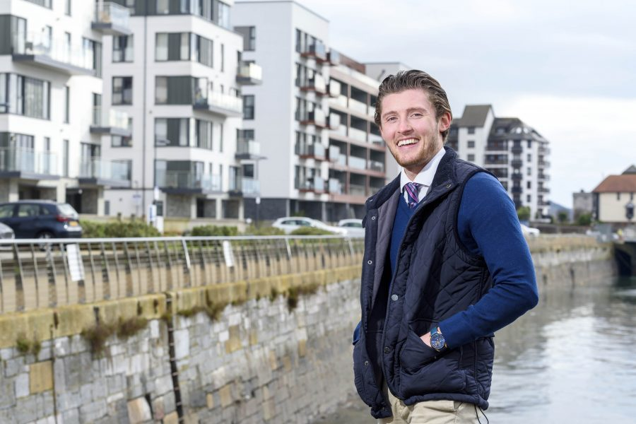 First-time buyer calls Quadrant Wharf home