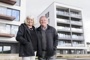 Plymouth couple call Quadrant Wharf home, new apartment
