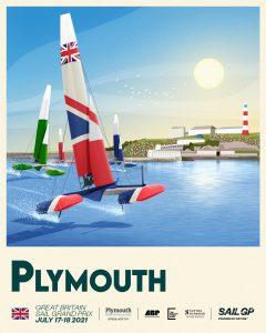 Plymouth SailGP poster