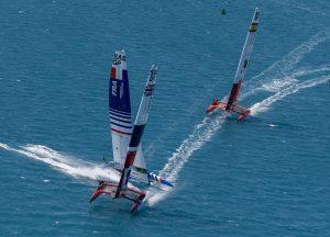 SailGP - boats racing