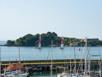 Moye Millbay Sail GB 013 400x300 - SailGP brings colour and life to Millbay's quaysides