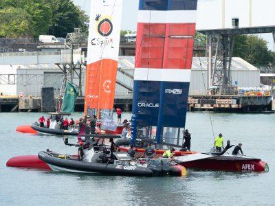 Moye Millbay Sail GB 118 400x300 - SailGP brings colour and life to Millbay's quaysides